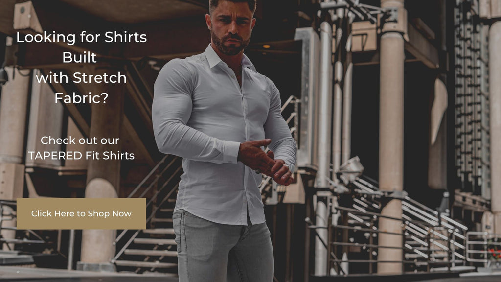 How to stretch a shirt - Tapered Fit shirts