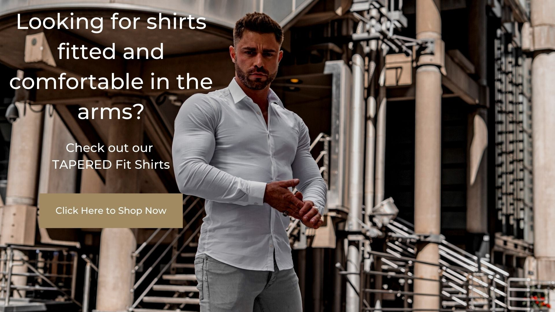 Arms too big for sleeves solution - Shop Shirts for big arms