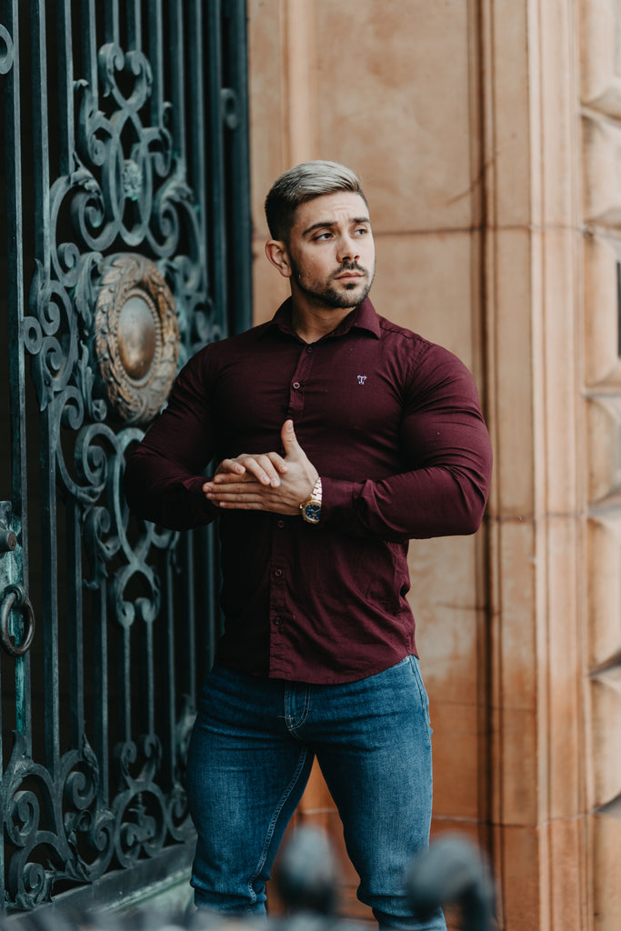Shirts for big arms. When arms are too big for sleeves Shop Tapered Fit Shirts