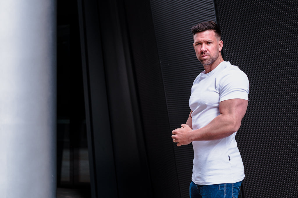 best form fitting t shirts by Tapered Menswear
