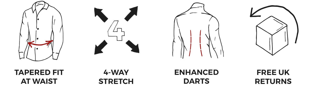 Tapered Fit Shirt Benefits to bodybuilders