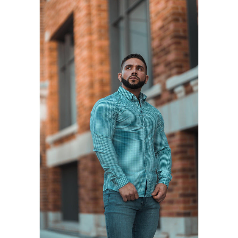 Check Tapered Fit Shirt