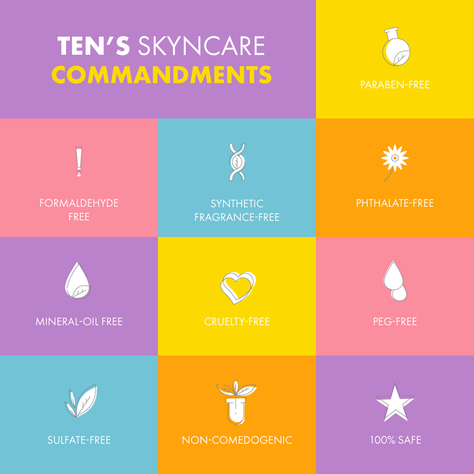 The TEN Skyncare Commandments