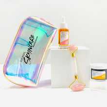Load image into Gallery viewer, Skincare Superhero Kit + Makeup Tote