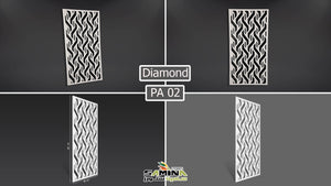 FUTEC partitions diamond بارتشن فيوتك