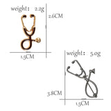 Stethoscope Brooches
