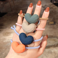 Heart Hair Ties