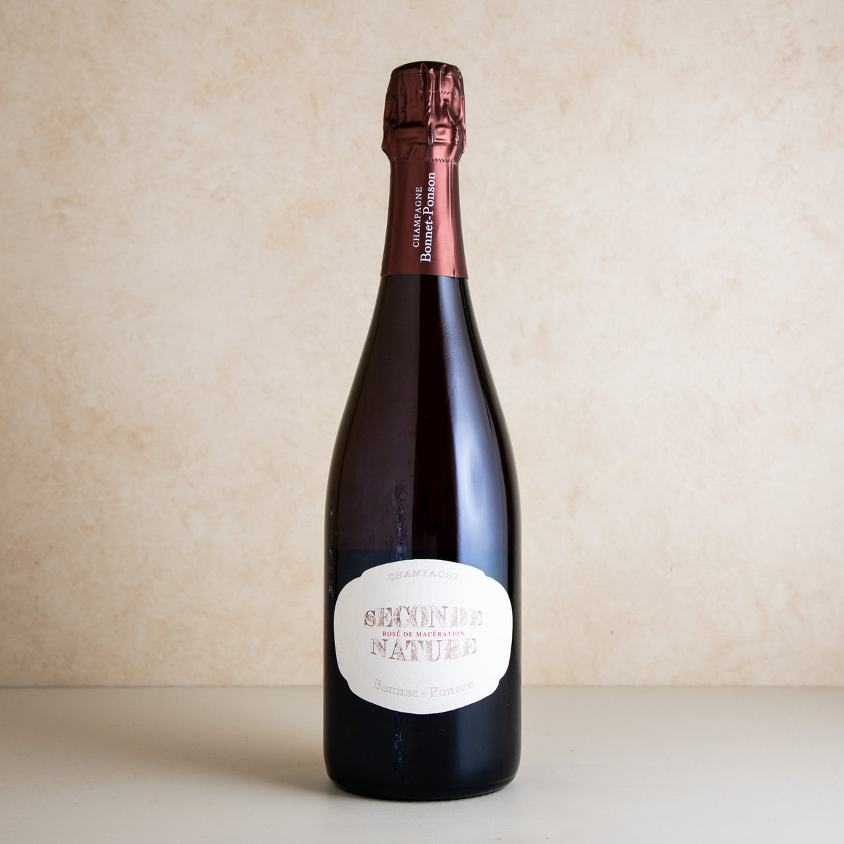 NV Bonnet-Ponson 'Seconde Nature – Rosé de Macération' 1er Cru Brut Nat.