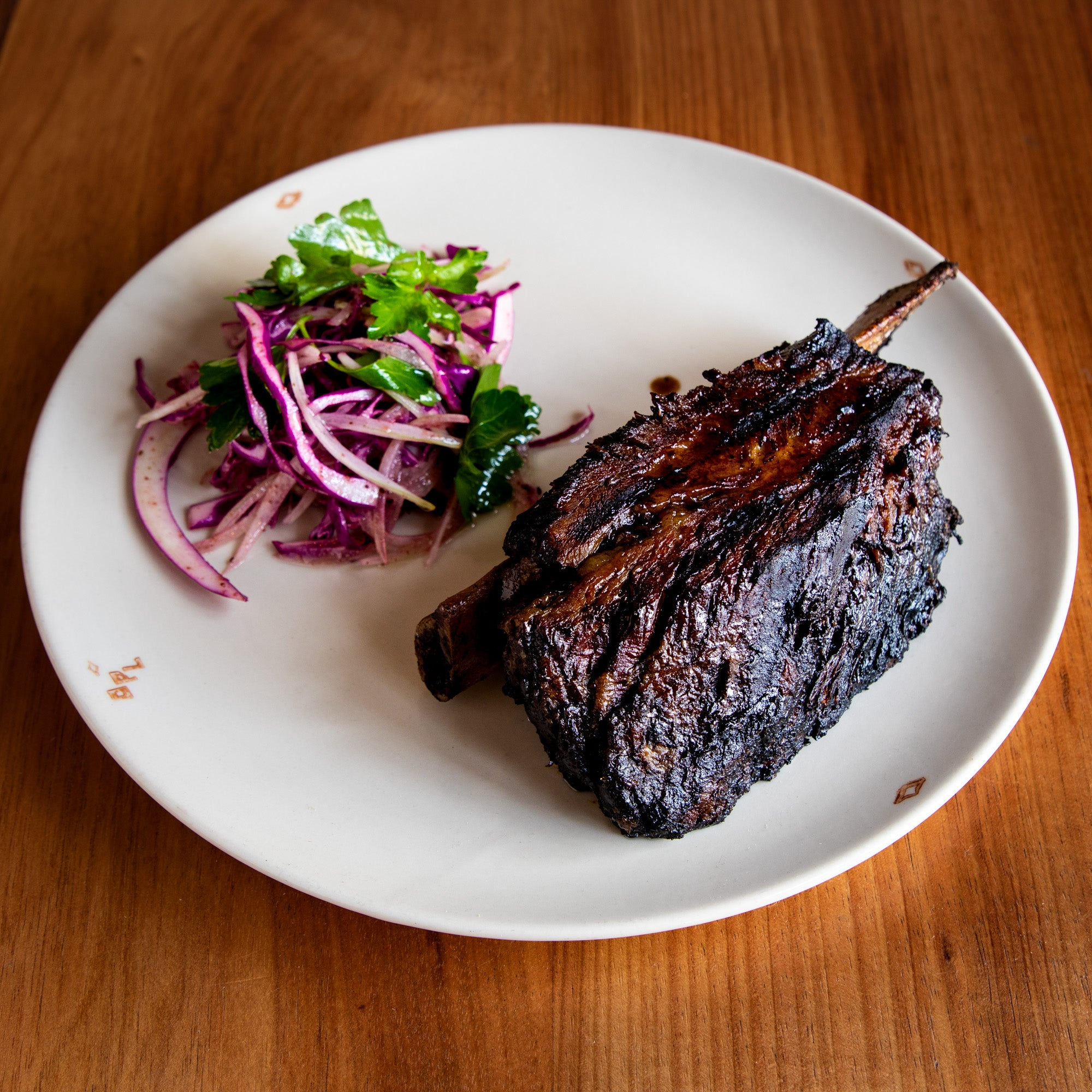 12-hour Braised & Chargrilled Beef Short Rib