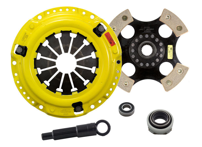 ACT 1988 Honda Civic HD/Race Rigid 4 Pad Clutch Kit