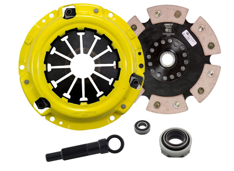 ACT 1989 Honda Civic HD/Race Rigid 6 Pad Clutch Kit