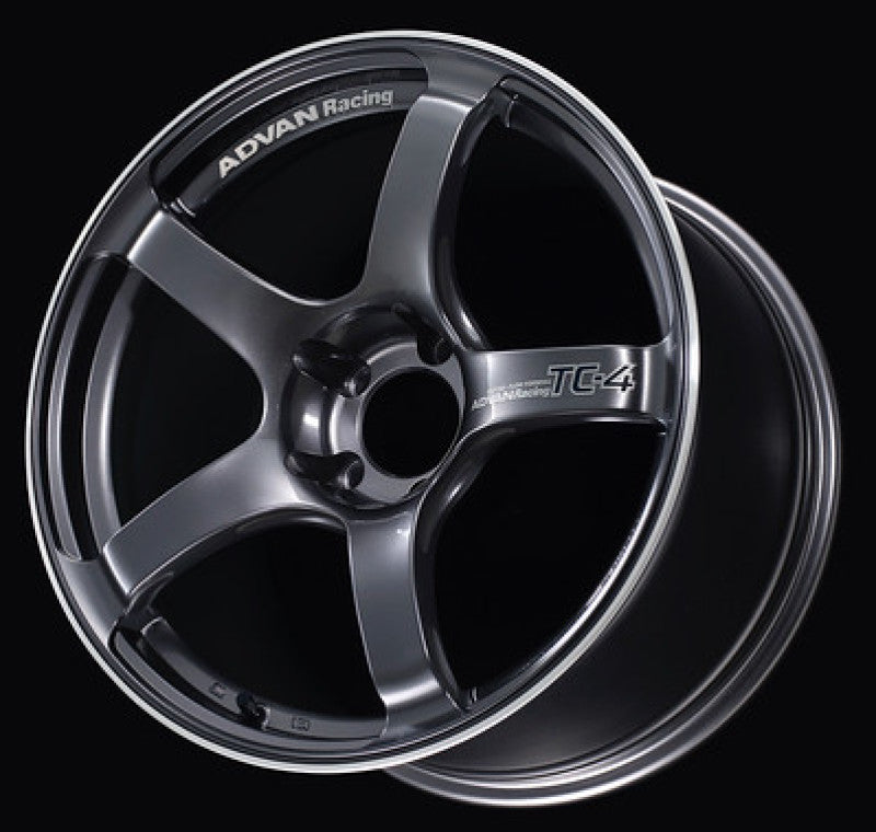 Advan TC4 16x5.5 +45 4-100 Racing Gunmetallic & Ring Wheel