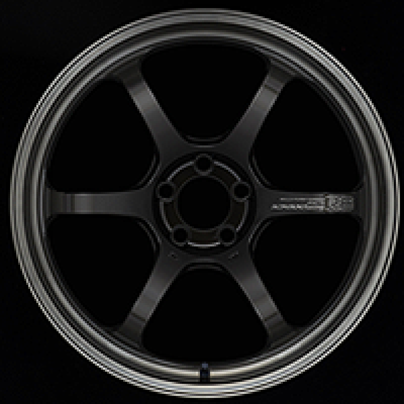 Advan R6 20x10 +45mm 5-114.3 Machining & Black Coating Graphite Wheel