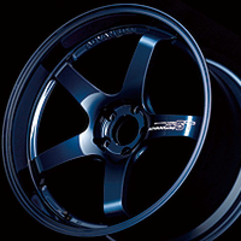Advan GT Premium Version 20x9.5 +28 5-114.3 Racing Titanium Blue Wheel