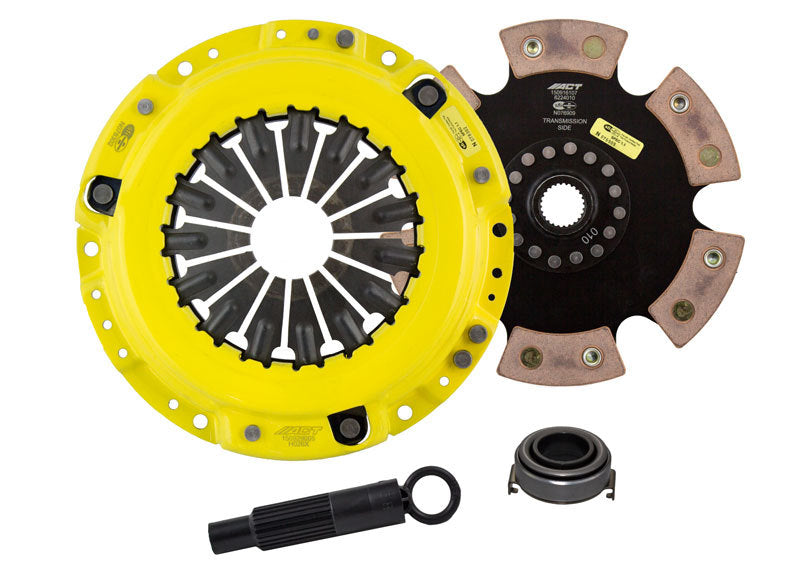 ACT 1997 Acura CL XT/Race Rigid 6 Pad Clutch Kit