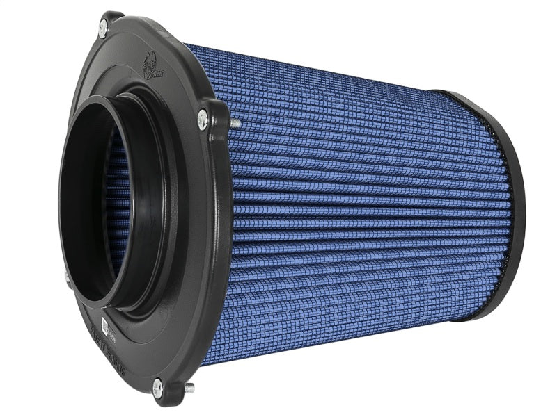 aFe Quantum Pro-5 R Air Filter Inverted Top - 5in Flange x 9in Height - Oiled P5R
