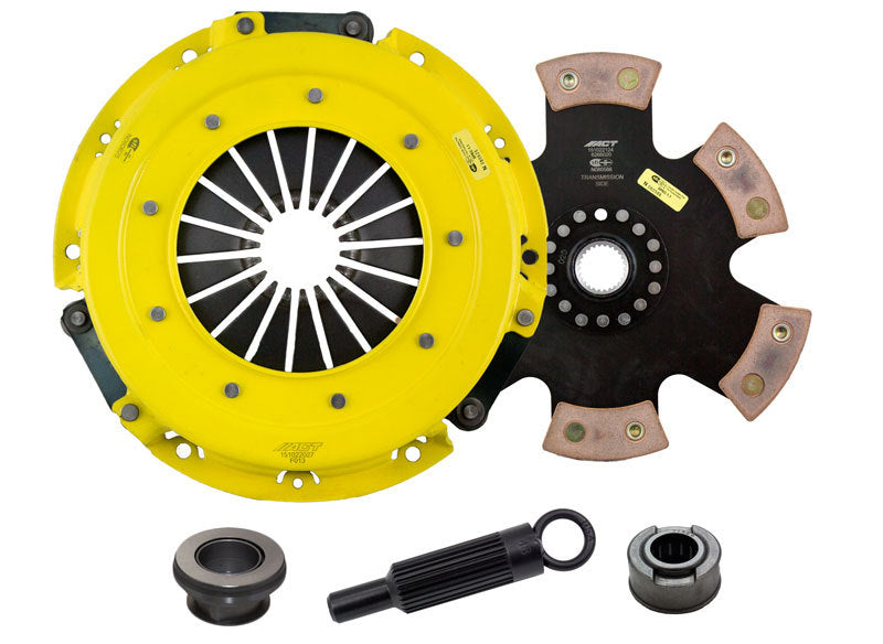ACT 2001 Ford Mustang HD/Race Rigid 6 Pad Clutch Kit