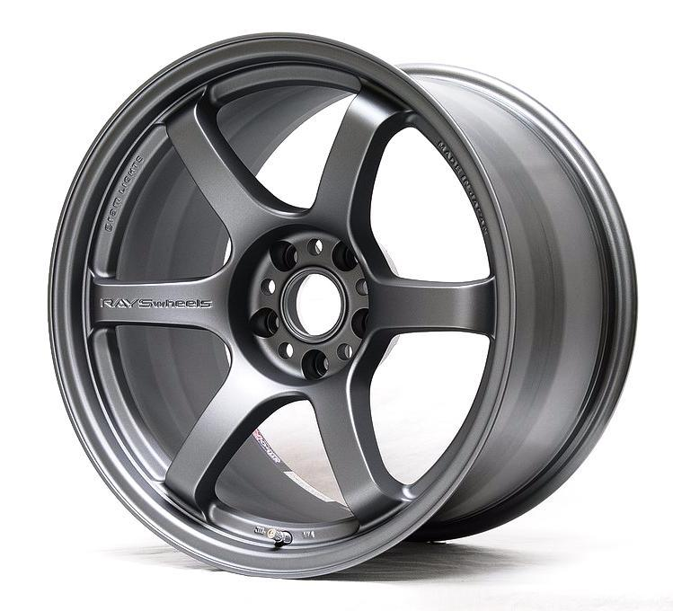 Gram Lights 57DR Wheel - 17x9.0 / Offset +38 / 5x100 (Gun Blue2)