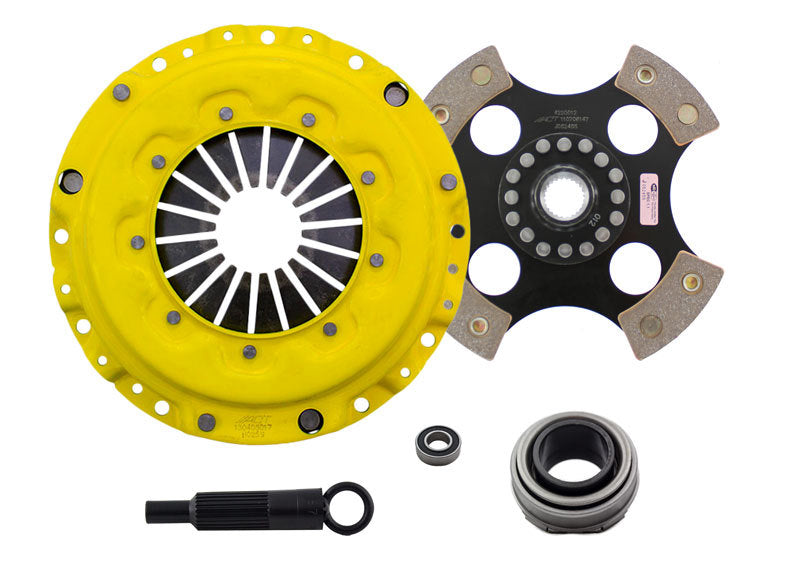 ACT 1990 Acura Integra Sport/Race Rigid 4 Pad Clutch Kit