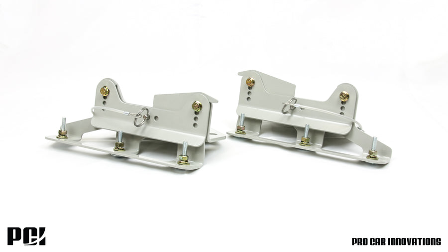 PCI Quick Disconnect Splitter Brackets – 88-91 Civic / CRX
