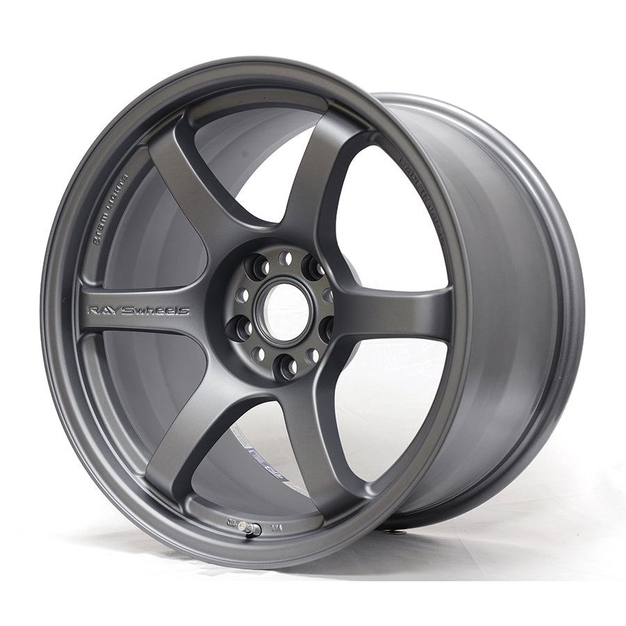 Gram Lights 57DR Wheel - 18x8.5 / Offset +37 / 5x100 (Gun Blue2)