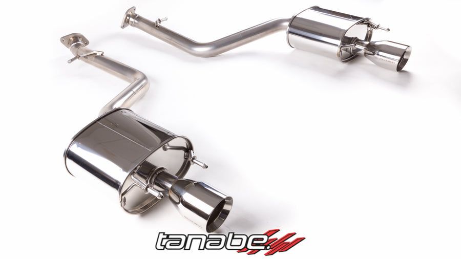 Tanabe Medallion Touring Axle-back Exhaust 14 Lexus IS250/350 F-Sport (RWD) 14+