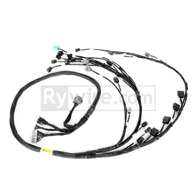 Rywire Honda K-Series Tucked Budget Engine Harness w/OBD2 02-04 RSX K20 Sensors (VSS by Firewall)