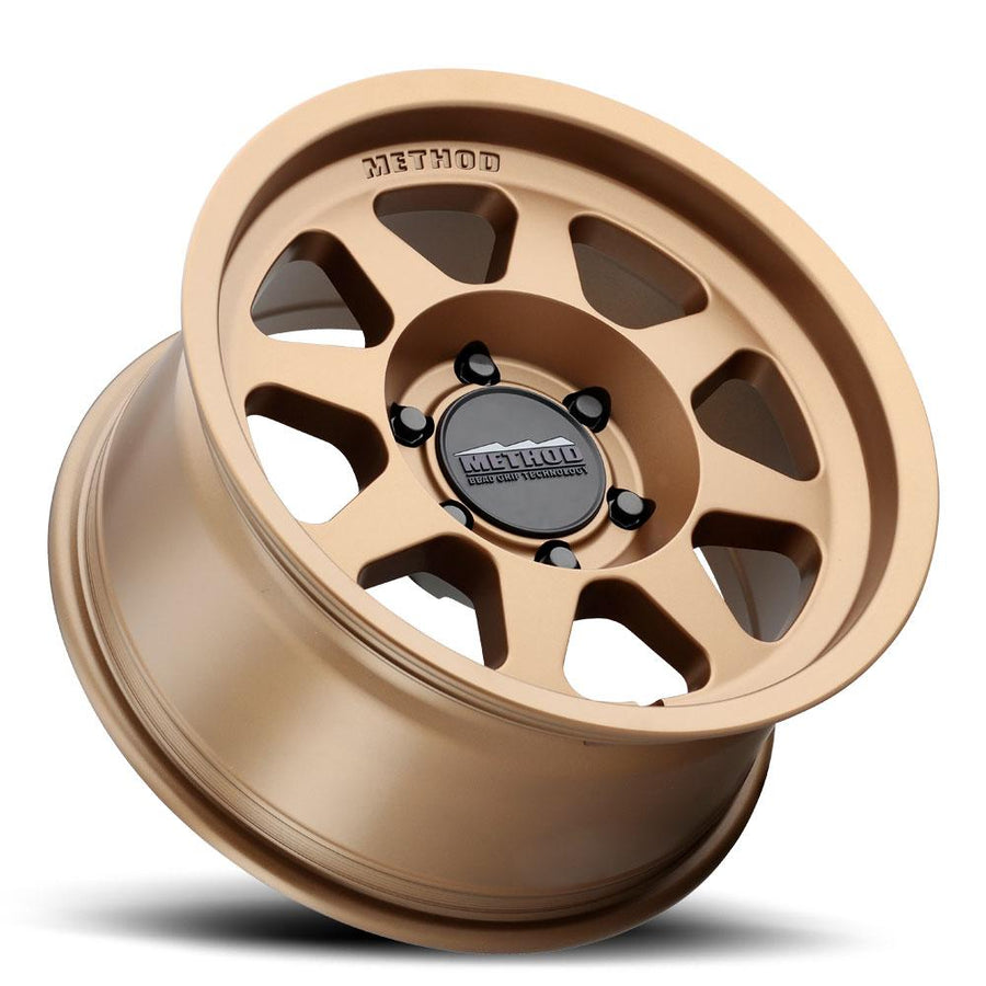 Method MR701 17x8.5 0mm Offset 6x5.5 106.25mm CB Method Bronze Wheel