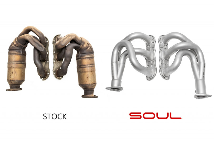 Soul Performance Porsche 997.2 Carrera Long Tube Competition Headers