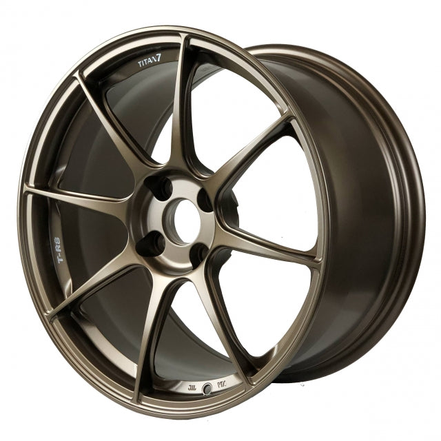 Titan 7 T-R8 (Set of Four / Techna Bronze) - 17x9.0 / +45 / 4x100 for Mazda Miata ND 2016+