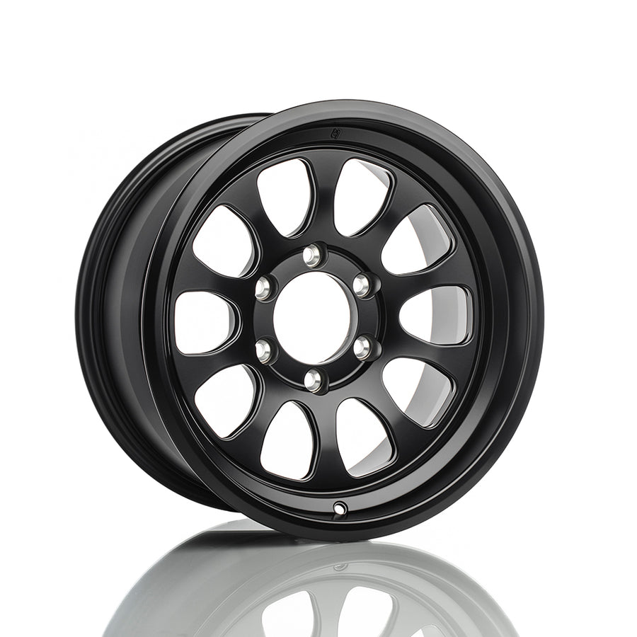 Titan 7 T-AK1 Wheel - 17x8.5 / Offset +5 / 5x150 (Machine Black)