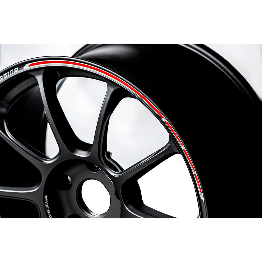 Volk Racing ZE40 Time Attack II Wheel (Face-3) - 18x10.5 / Offset +14 / 5x114.3 (Matte Gunblack / REDOT)