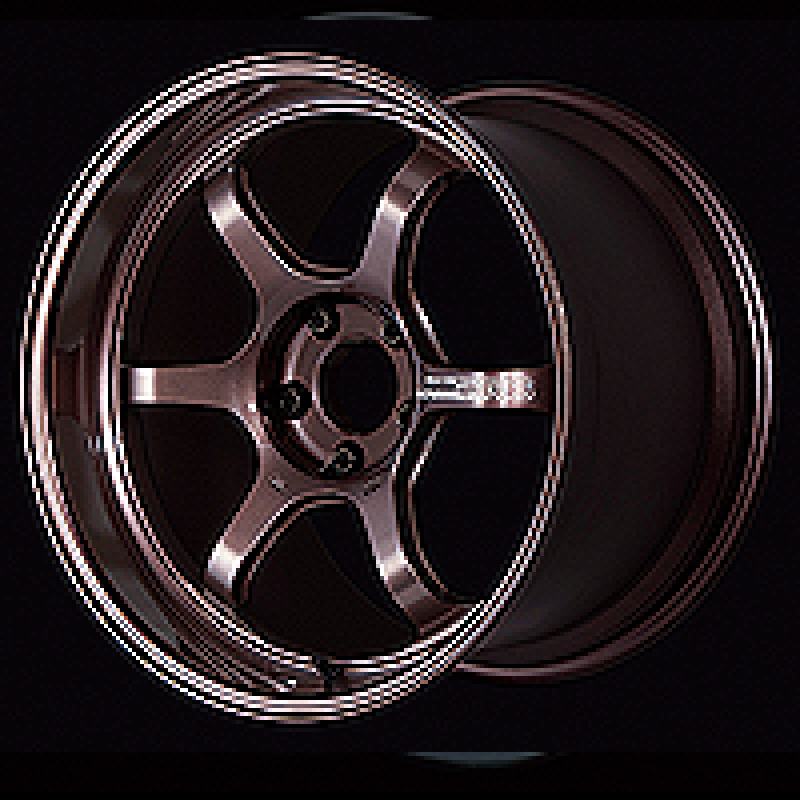 Advan R6 18x9.5 +45 5-120 Racing Copper Bronze Wheel
