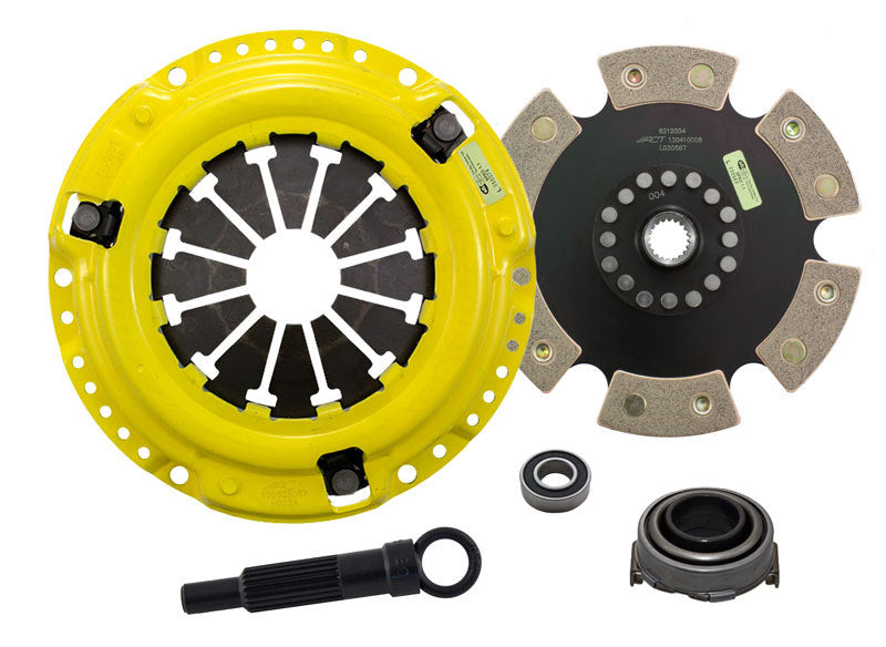 ACT 1992 Honda Civic XT/Race Rigid 6 Pad Clutch Kit