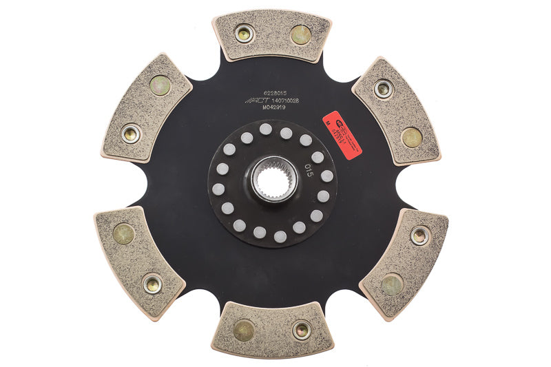 ACT 1992 Volkswagen Corrado 6 Pad Rigid Race Disc