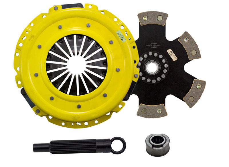 ACT 2011 Ford Mustang HD/Race Rigid 6 Pad Clutch Kit