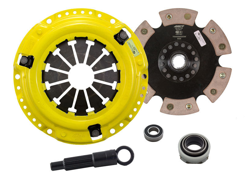 ACT 1988 Honda Civic XT/Race Rigid 6 Pad Clutch Kit