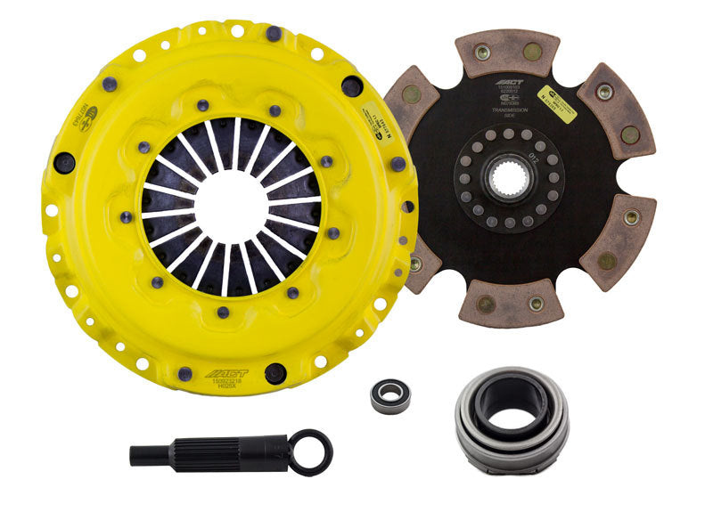 ACT 1990 Acura Integra XT/Race Rigid 6 Pad Clutch Kit