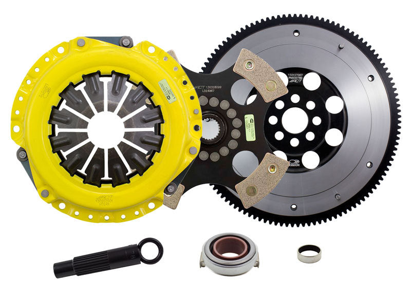 ACT 2012 Honda Civic XT/Race Rigid 4 Pad Clutch Kit