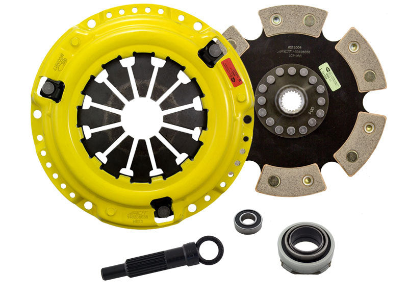 ACT 1990 Honda Civic HD/Race Rigid 6 Pad Clutch Kit