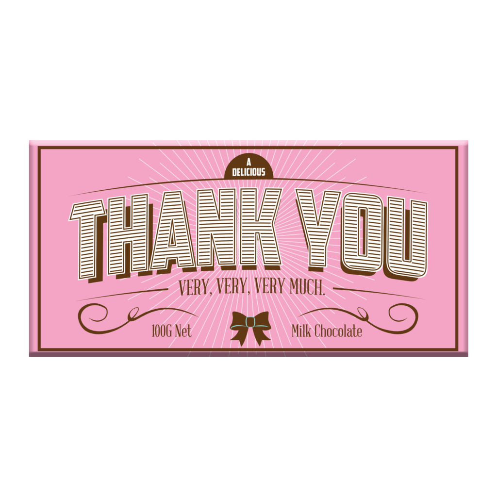 Milk Chocolate - Pink Thank You!