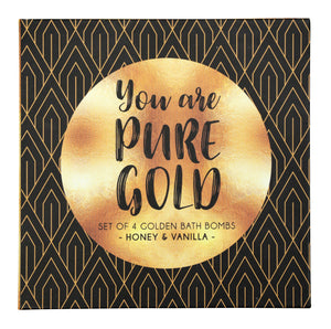 Bath Bombs - You Are Pure Gold