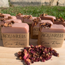 Load image into Gallery viewer, Handmade Natural Soap - Coco Rose by AquaRela
