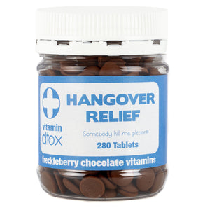 Hangover Relief chocolates for fun gift box deliveries, Melbourne.