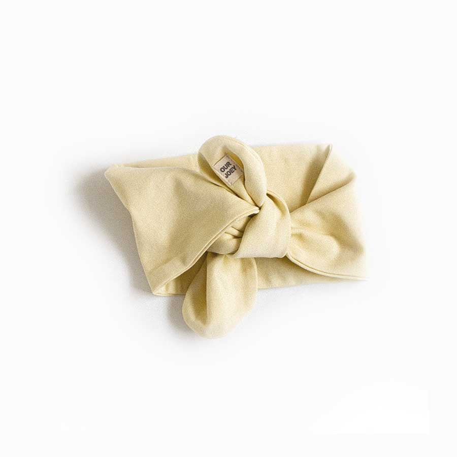 Baby Headband - Organic Cotton - Pear