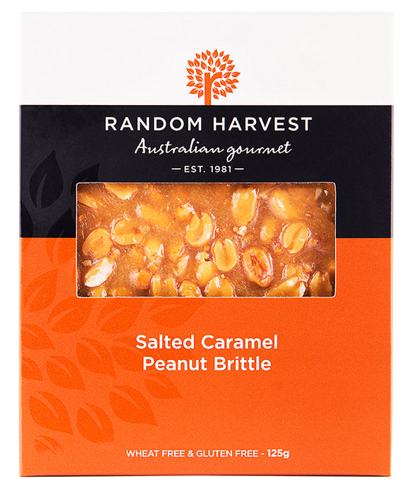 Random Harvest Salted Caramel Peanut Brittle for large and small gift boxes, Melbourne