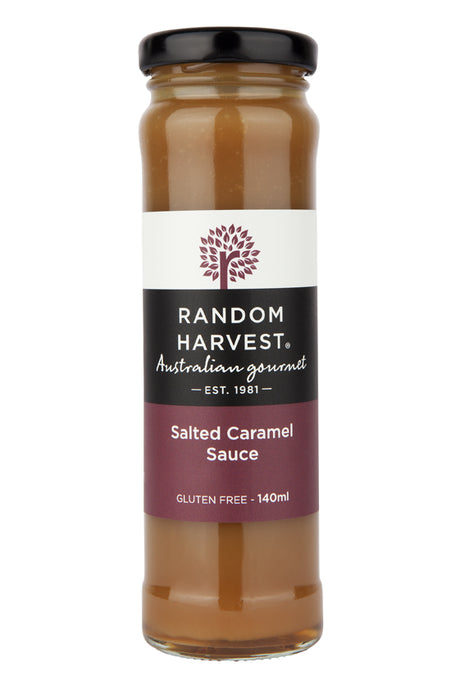 Salted Caramel Sauce 140ml - perfect for small or large gift boxes, Melbourne.