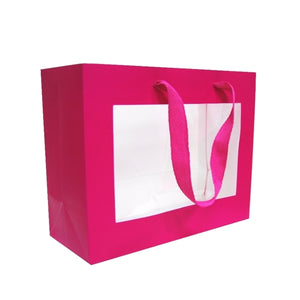 Pink Window Gift Bag - Must Choose This, Blue Or Red