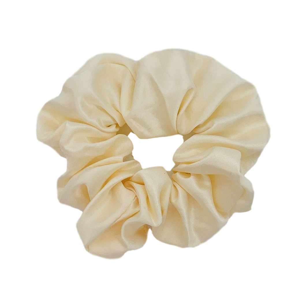 Sleep Satin Scrunchie - Cream