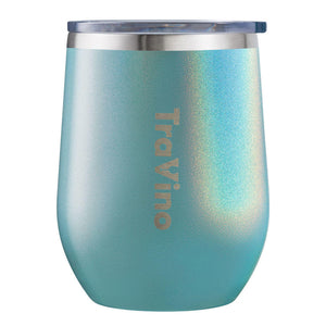 Travino Aqua Stemless Tumbler, perfect for large gift boxes delivered in Melbourne.